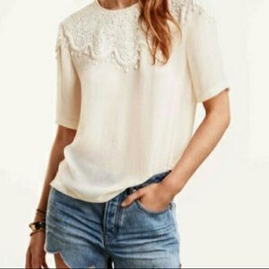 H&M Tops - Cream Conscious Collection Blouse